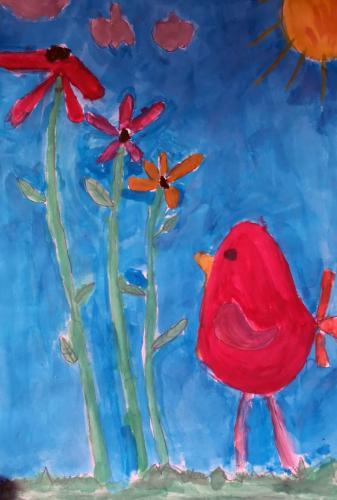 Grupă pictură online începători