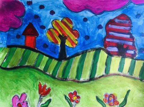 Peisaj copii